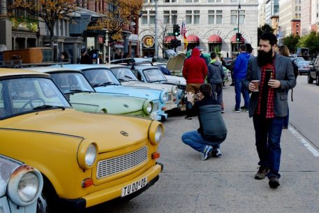 Check Out the Cute, Colorful Cars East Germans Drove Instead of the Volkswagen Beetle