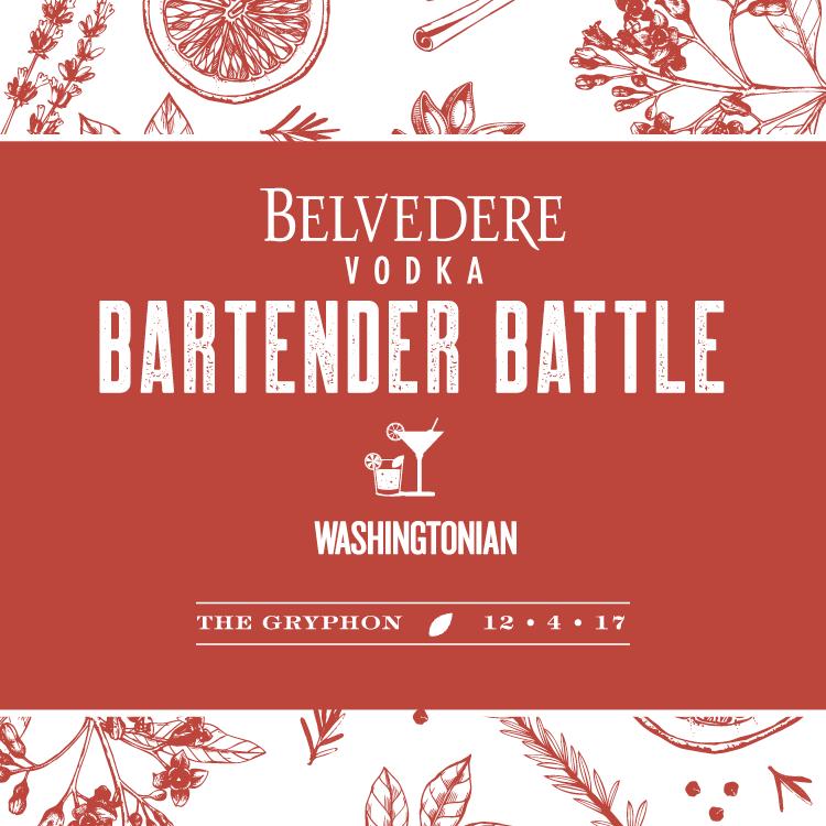 Washingtonian's Belvedere Bartender Battle