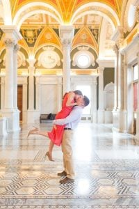 Best Idea Ever: Engagement Photos at the Library of Congress