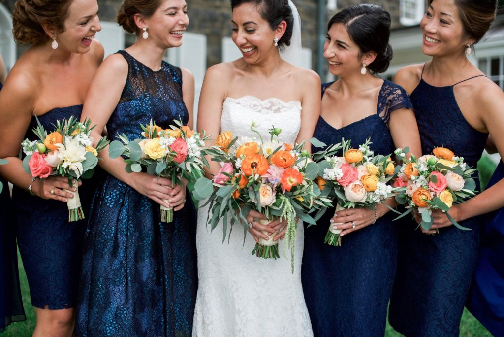 This JMU Couple's Rustic Virginia Barn Wedding Featured Dreamy Florals and a Traditional Iranian Sofreh Sheila Nasseri and Tomas Fadoul III Murray Hill Megan Noonan Photography