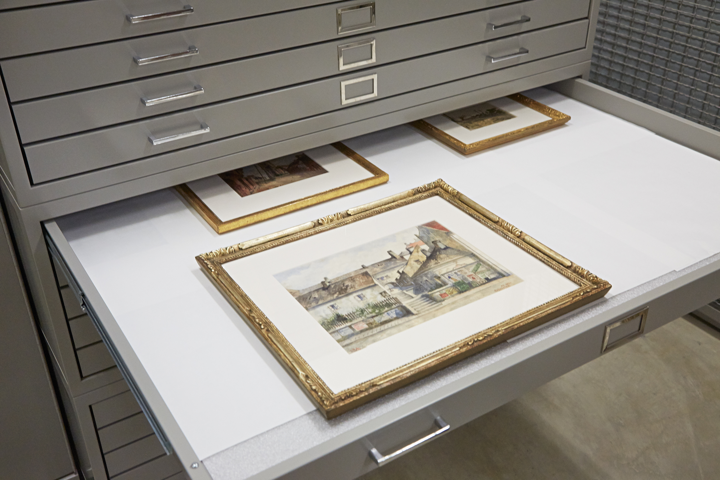 "The Army's German collection includes four ""creepy"" watercolors under lock and key. The artist: Adolf Hitler."
