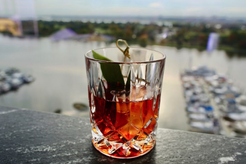Check Out the Amazing Views at the Wharf's New Rooftop Bar