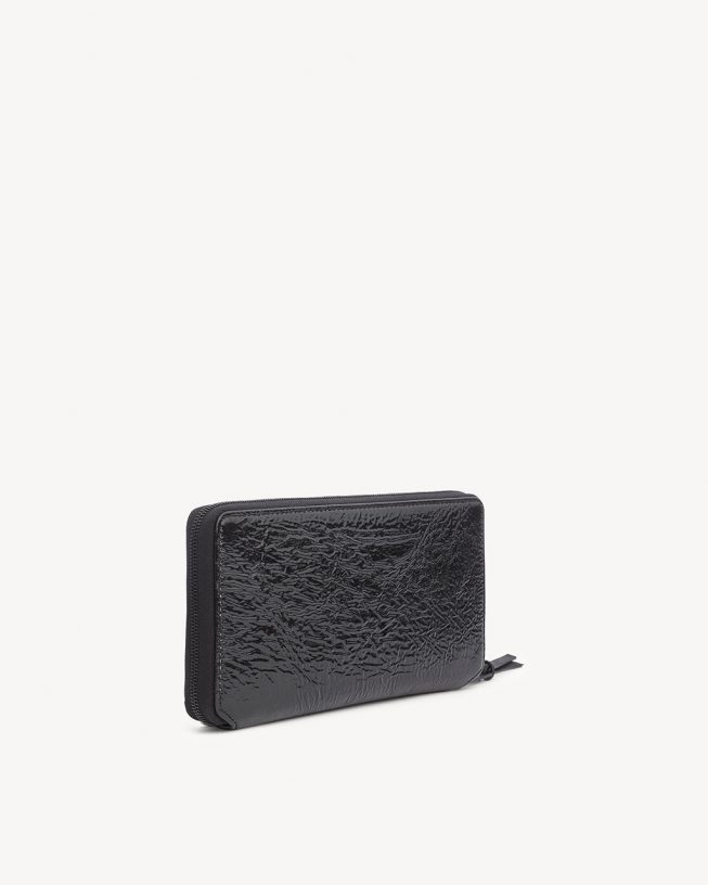 Zip Around Wallet in Vader (1)