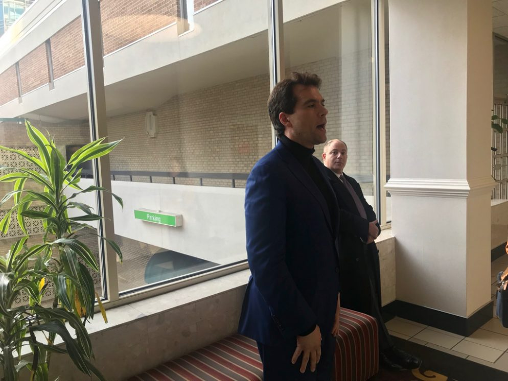 Surprise: Jack Burkman's Press Conference About Sexual Abuse in Congress Went Nowhere