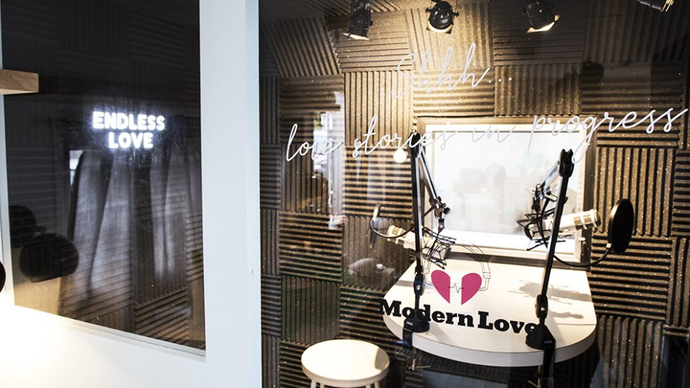 """You Can Record Your Love Story for the New York Times' """"Modern Love"""" Podcast on Saturday"""