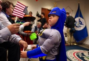 These Kids Became US Citizens on Halloween, So of Course Many of Them Wore Costumes