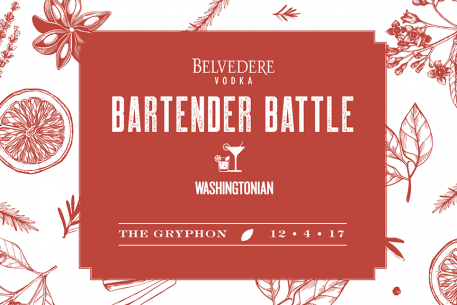 Washingtonian's Belvedere Bartender Battle