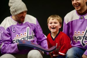 These Photos of the Caps Visiting Sick Kids Will Make Your Day Better