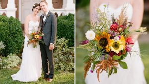 They Fell in Love Over Beers And A Game of Battleship, Then Threw The Sweetest Boho Barn Wedding