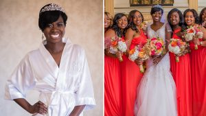 Bride Wears Tiara on Her Wedding Day, Looks Like a Real-Life Princess
