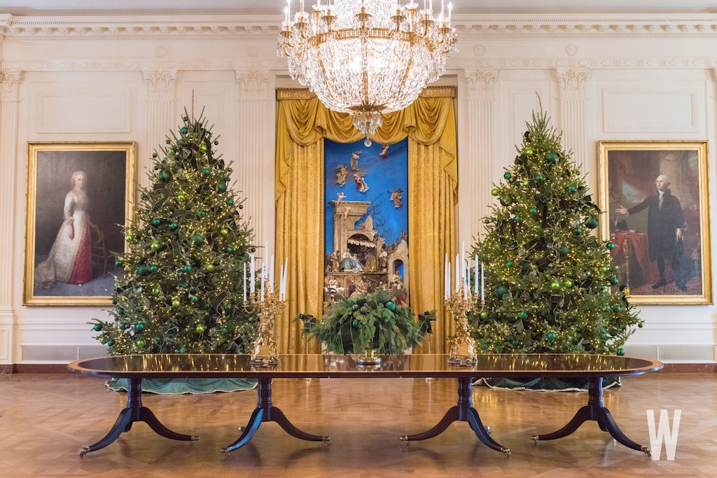 white house christmas decorations 2017 - When Is The White House Decorated For Christmas 2017