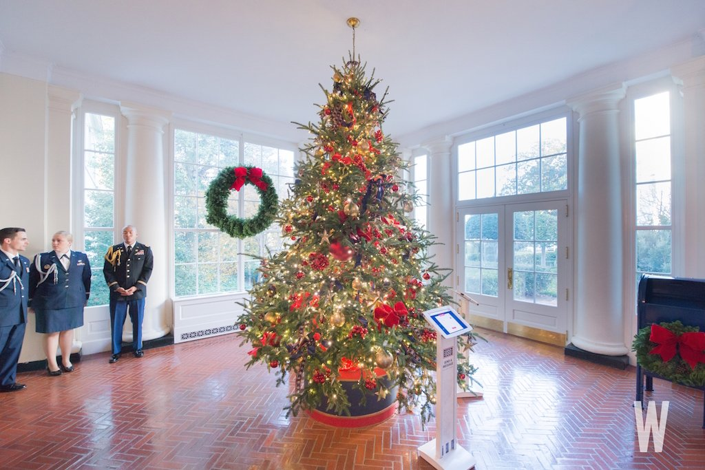white house christmas decorations 2017 - White House Christmas Decorations