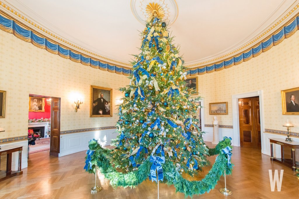 white house christmas decorations 2017 - Christmas Tree Decorations 2017