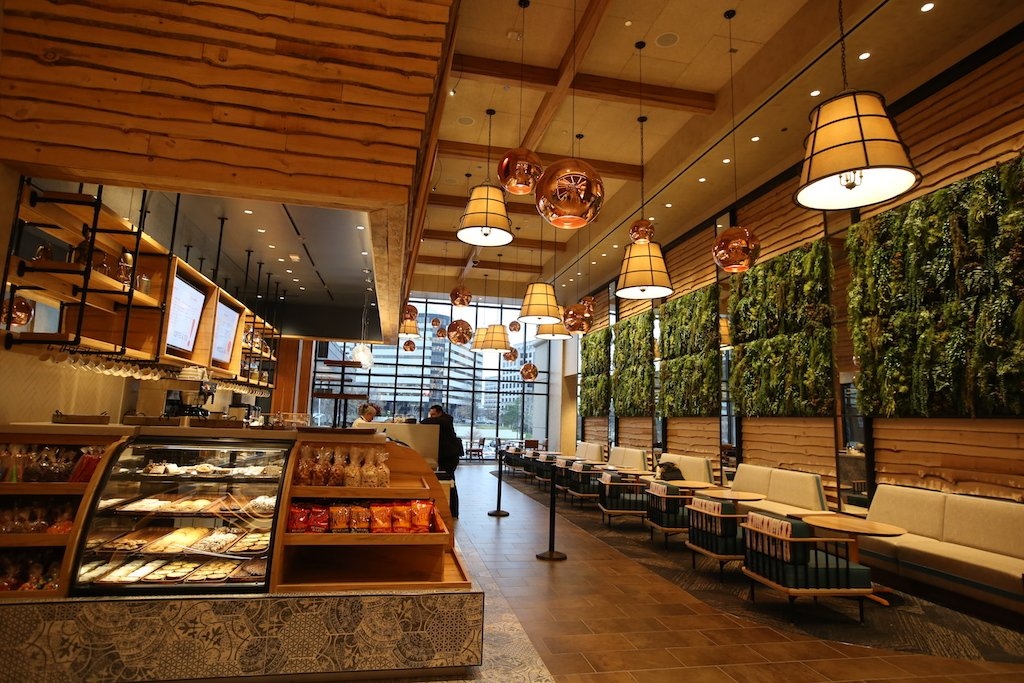 Isabella Eatery Includes A Mix Of Full Service Restaurant Seating Lounge Areas And Bars