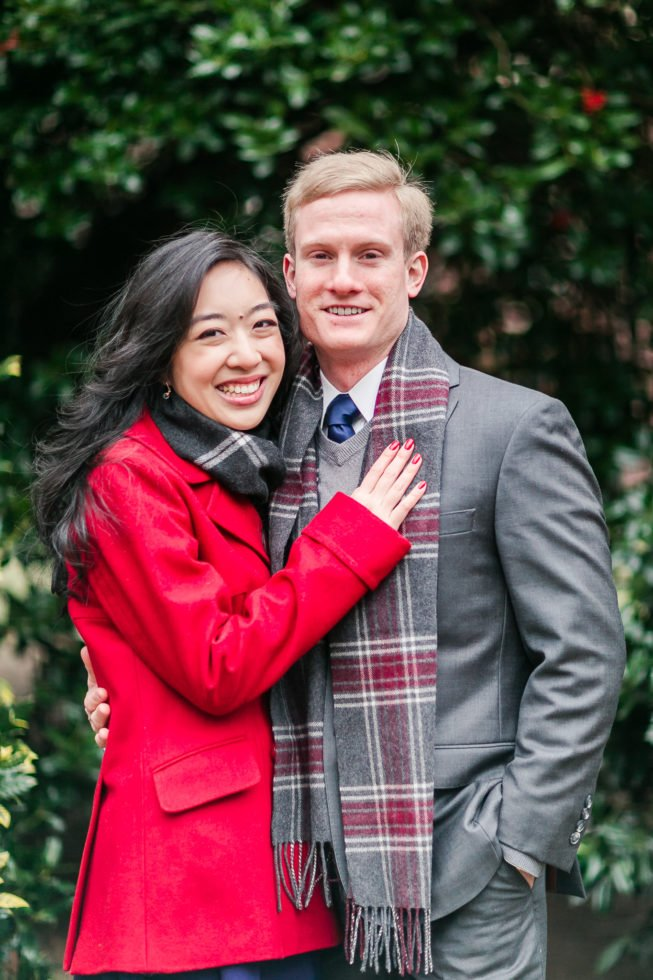 Claire Shiao + Paul Eleshewich | Xmas Engagement Anny Photography_AL6B2429