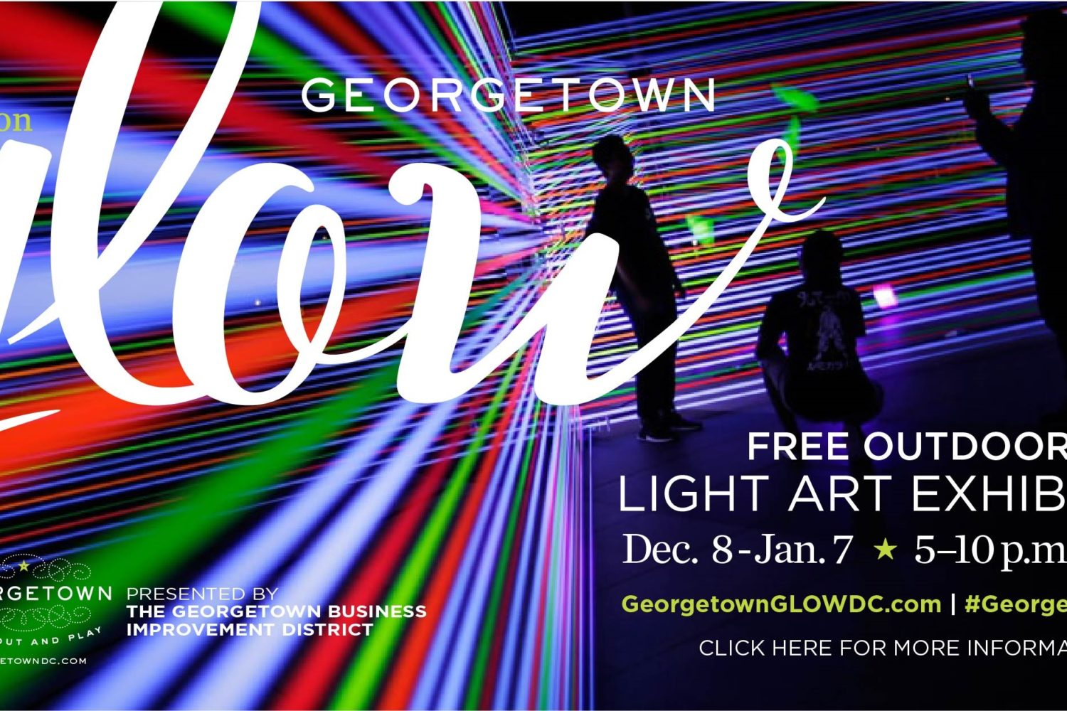Reimagine the Season of Light at Georgetown GLOW