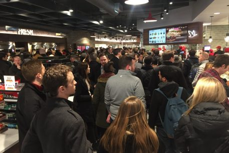 DC Wawa Has Been Open For One Day and It's Already Pure Madness