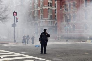 Some of the People on Trial for Rioting on Inauguration Day Were There to Dispense First Aid