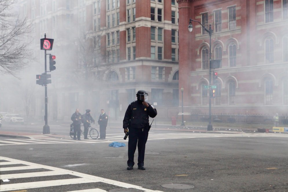 Inauguration Day riots