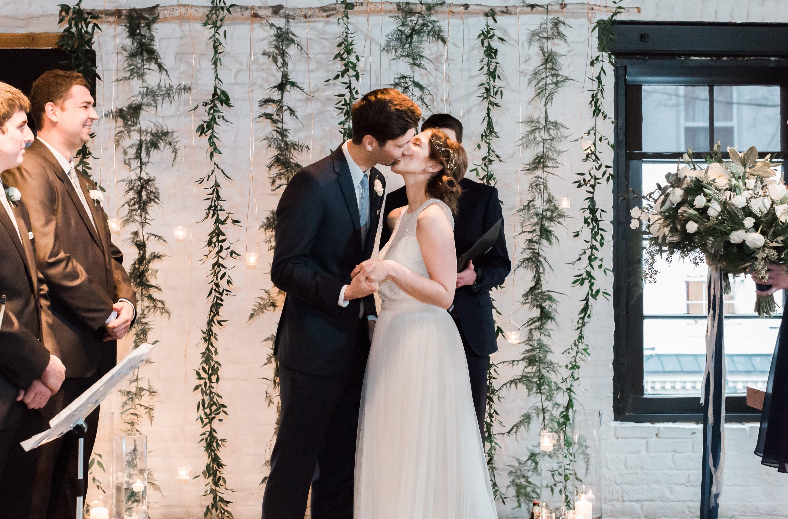 Engaged in December, Married in March: Melissa and Bogdan's Late Winter Wedding in Old Town Alexandria images 17