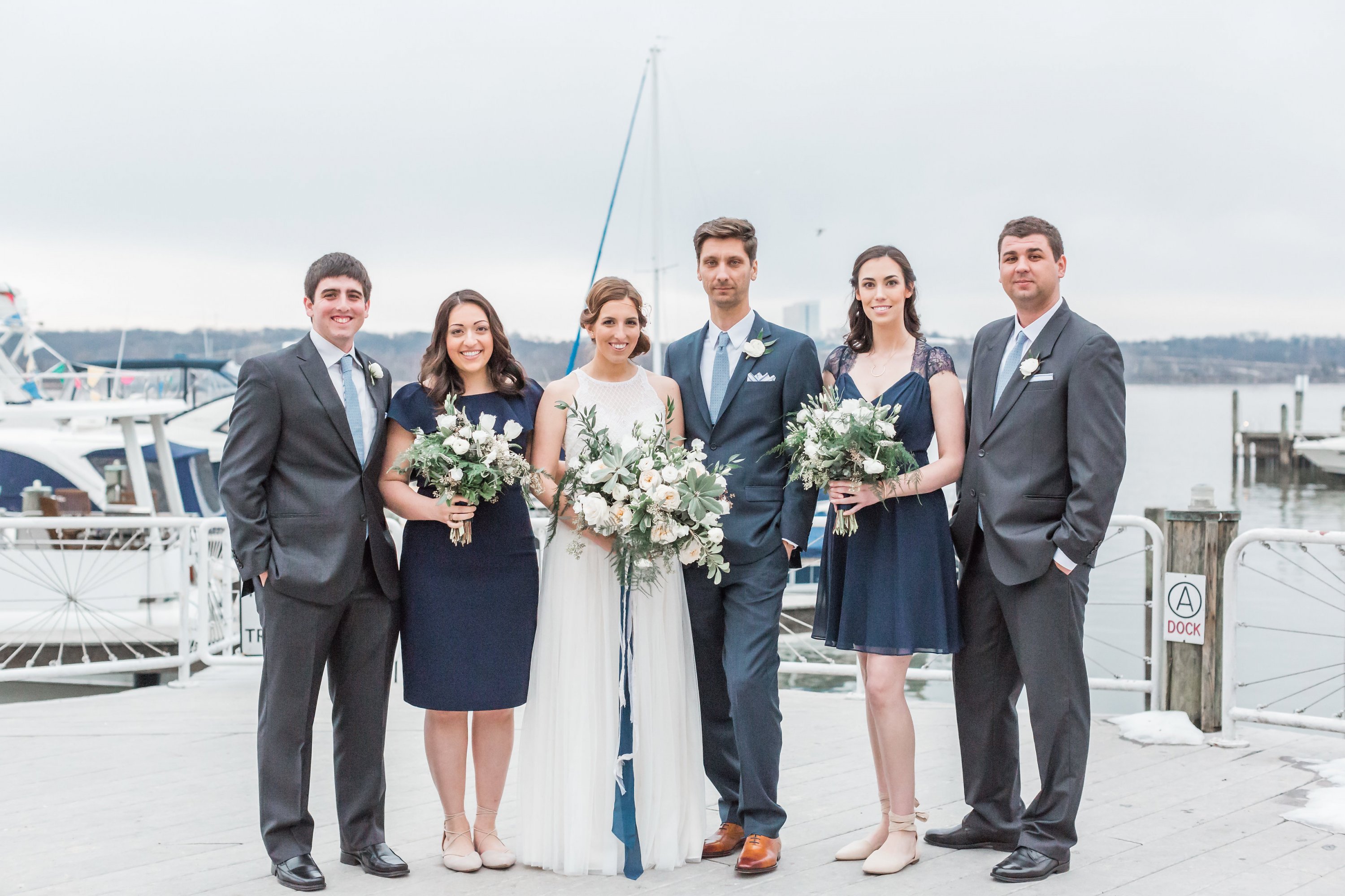 Engaged in December, Married in March: Melissa and Bogdan's Late Winter Wedding in Old Town Alexandria images 32