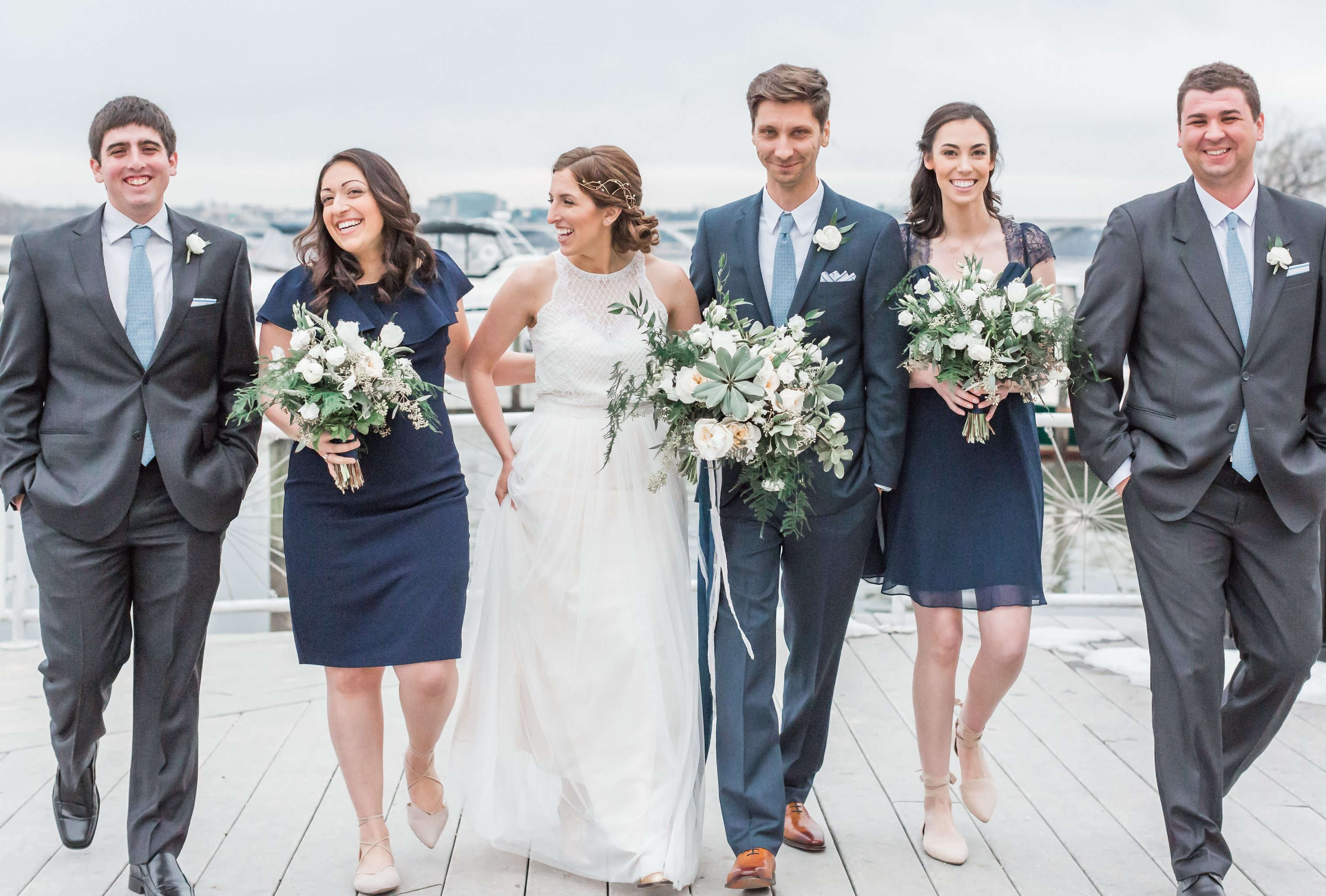 Engaged in December, Married in March: Melissa and Bogdan's Late Winter Wedding in Old Town Alexandria images 31