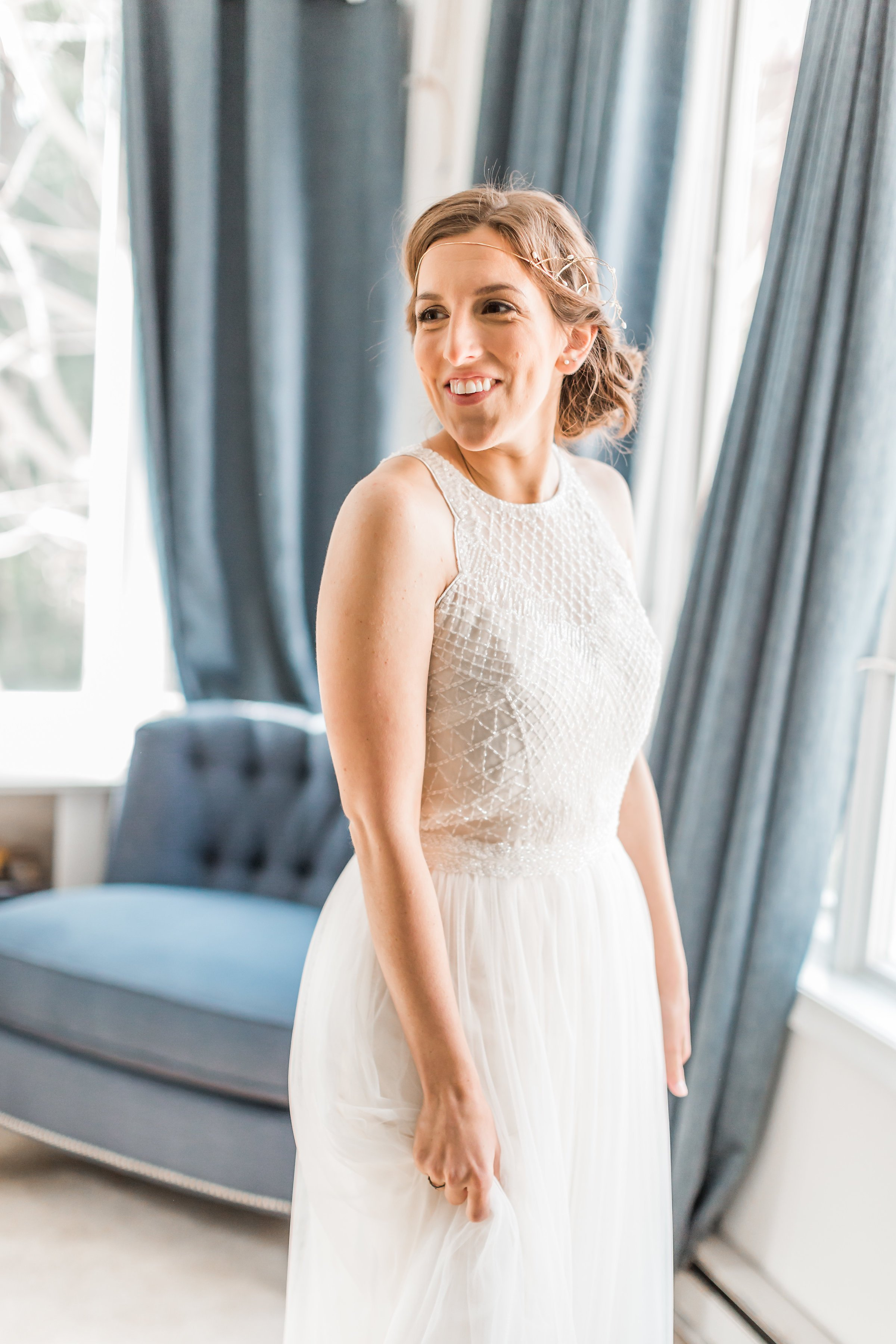 Engaged in December, Married in March: Melissa and Bogdan's Late Winter Wedding in Old Town Alexandria images 6