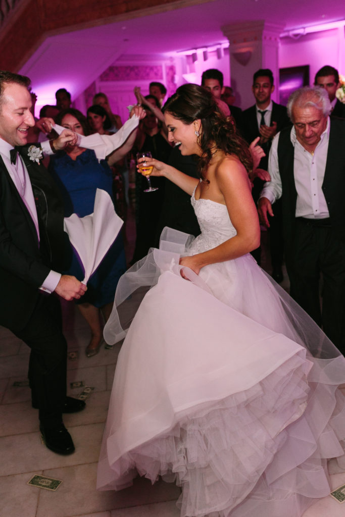 Pamela Prifti and Christian Cerria princess gown tiara wedding