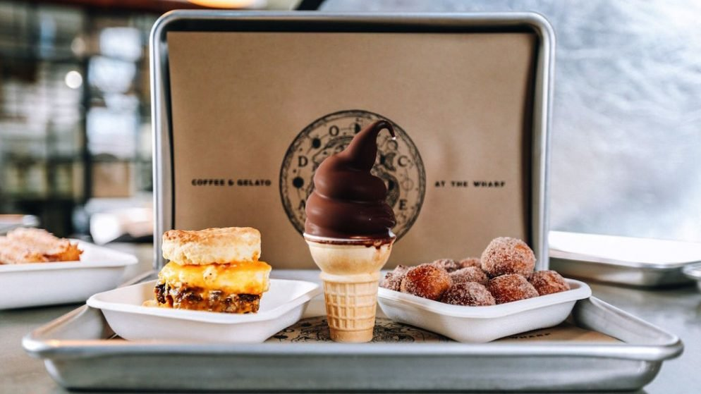 Breakfast Sandwiches and Chocolate-Dipped Soft-Serve Cones Are Coming to Dolcezza's New Wharf Shop