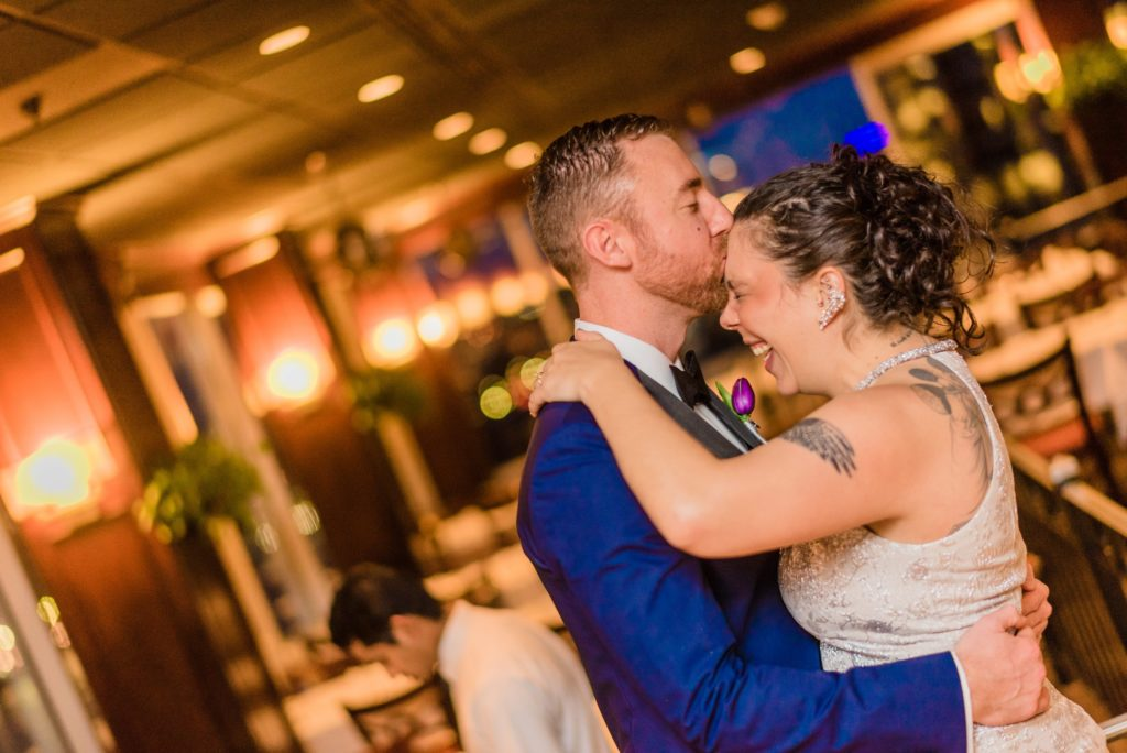 This Couple Ditched The Frills of A Formal Wedding for An Awesome New Years Eve Party at a DC Poolhall images 9