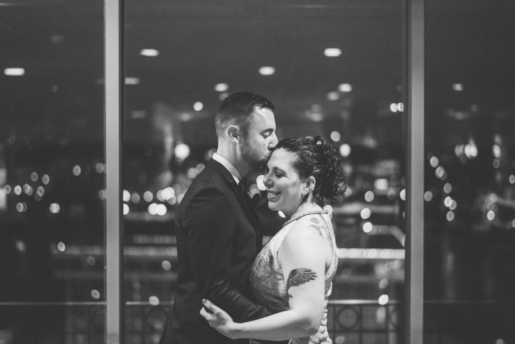 This Couple Ditched The Frills of A Formal Wedding for An Awesome New Years Eve Party at a DC Poolhall images 12