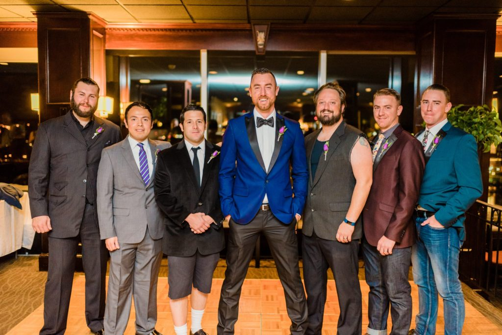 This Couple Ditched The Frills of A Formal Wedding for An Awesome New Years Eve Party at a DC Poolhall images 13