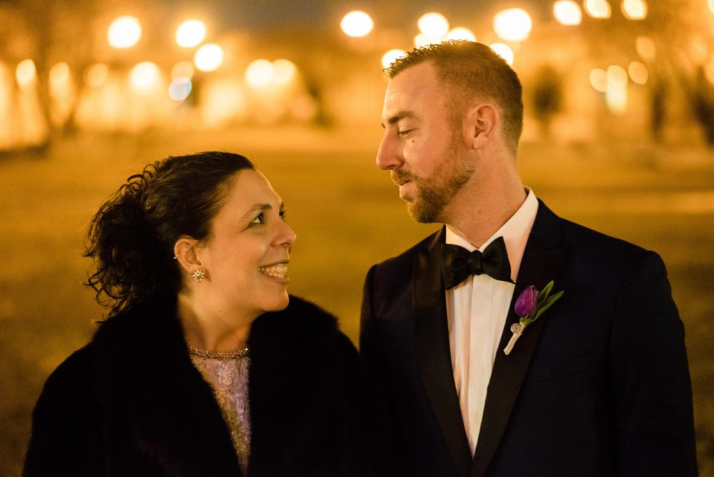 This Couple Ditched The Frills of A Formal Wedding for An Awesome New Years Eve Party at a DC Poolhall images 31