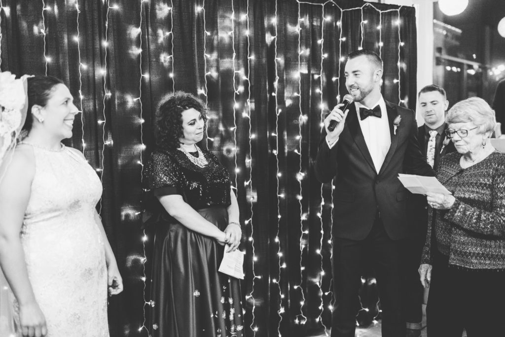 This Couple Ditched The Frills of A Formal Wedding for An Awesome New Years Eve Party at a DC Poolhall images 25