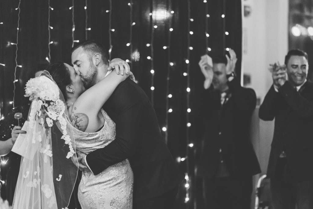 This Couple Ditched The Frills of A Formal Wedding for An Awesome New Years Eve Party at a DC Poolhall images 29
