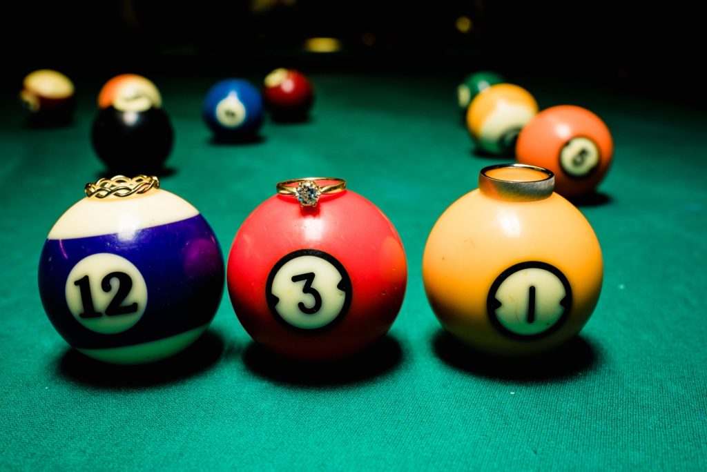 This Couple Ditched The Frills of A Formal Wedding for An Awesome New Years Eve Party at a DC Poolhall images 32