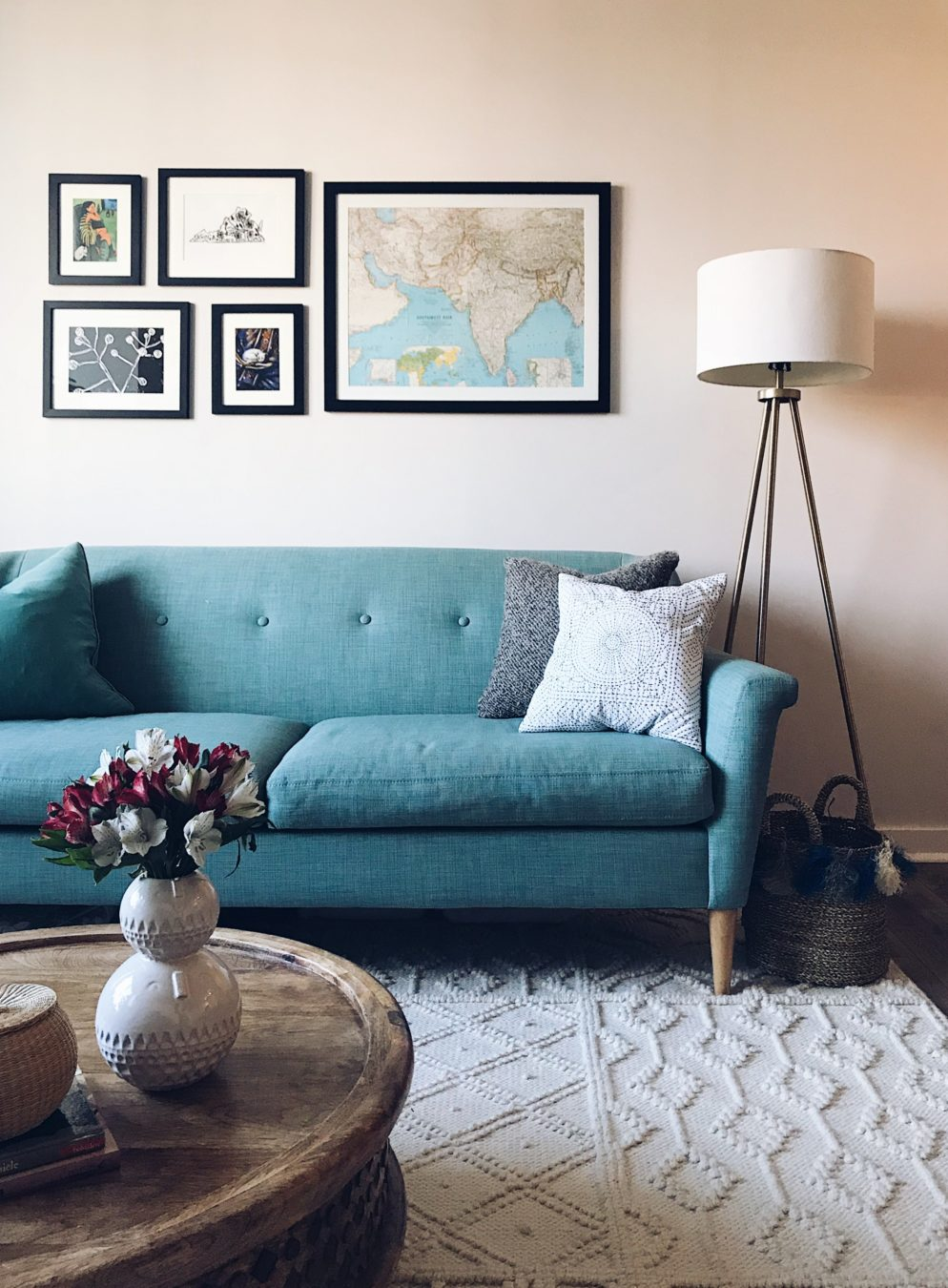 Look Inside My Home: An Insanely Stylish and Surprisingly Affordable Logan Circle Apartment