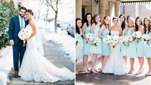 This Winter Wedding on Capitol Hill Has Us Dreaming of More Snow