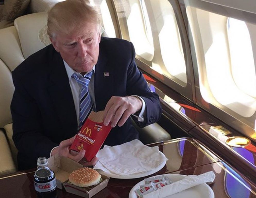 Image result for trump food