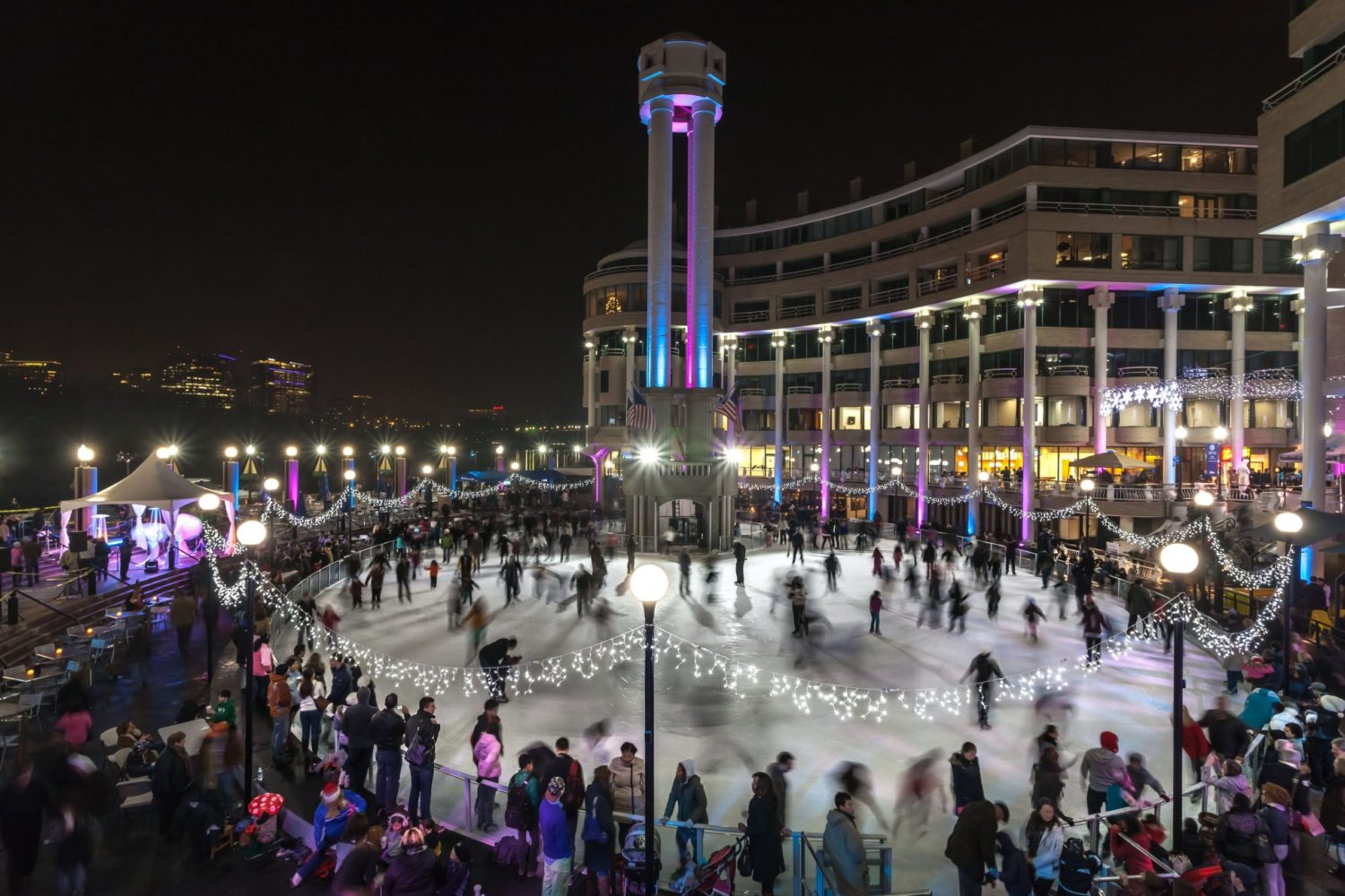 Washington Harbour Ice Skating