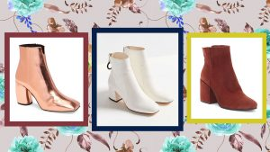 20 Block-Heeled Ankle Booties You Can Get Right Now for Under $120