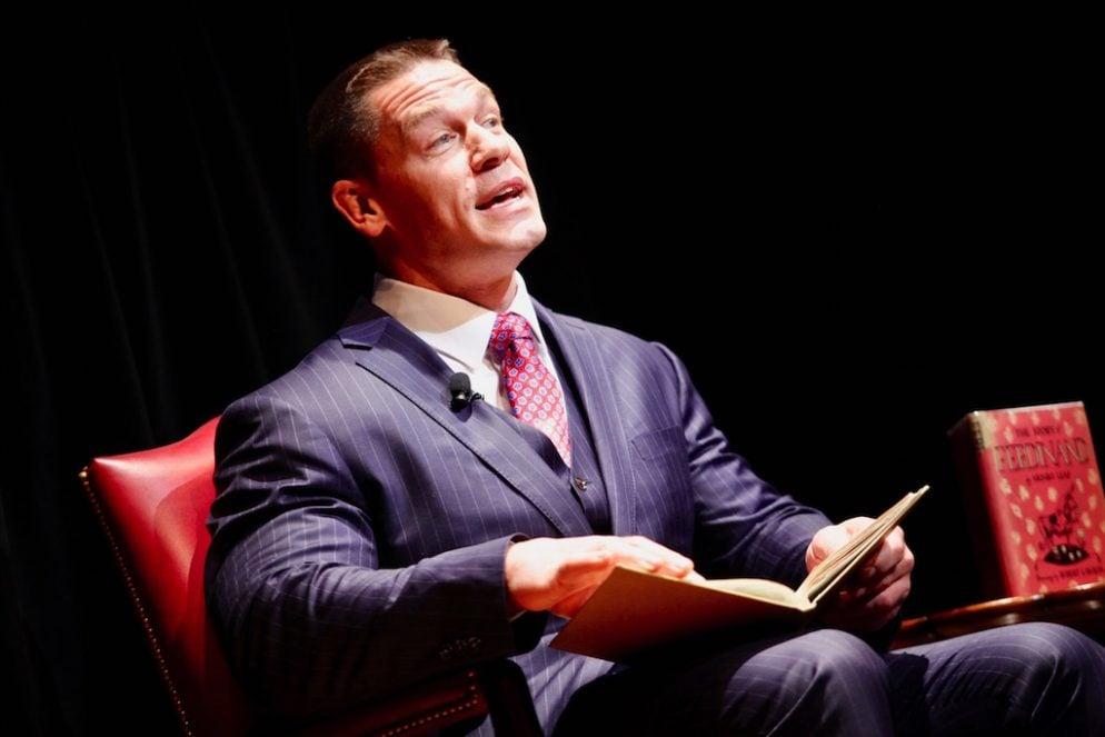 "PHOTOS: John Cena Reads ""Ferdinand"" at the Library of Congress"