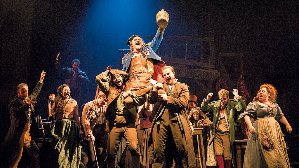 The Man Behind Les Misérables On How DC Started It All