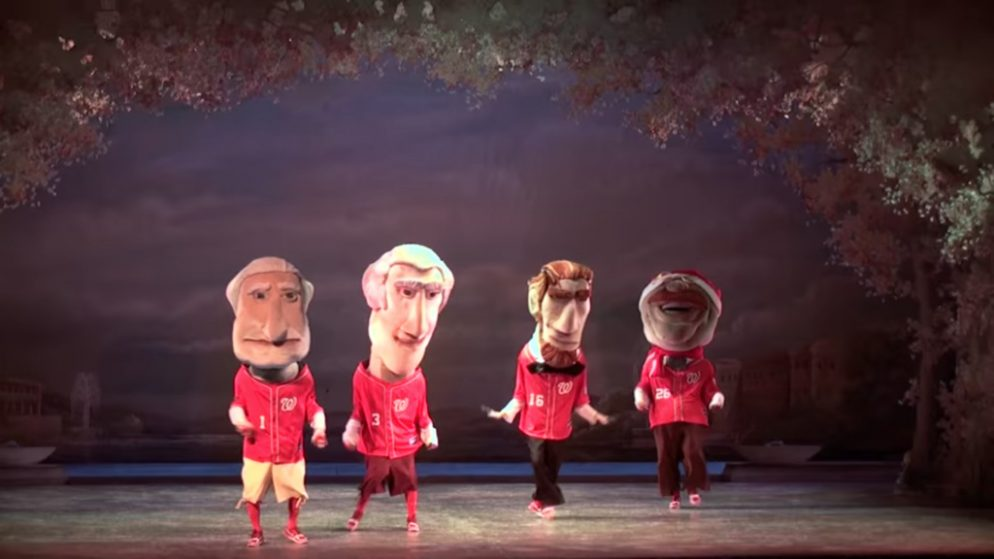 The Washington Ballet's Nutcracker Guest Stars Include Ryan Zimmerman, the Racing Presidents, and Tony Kornheiser