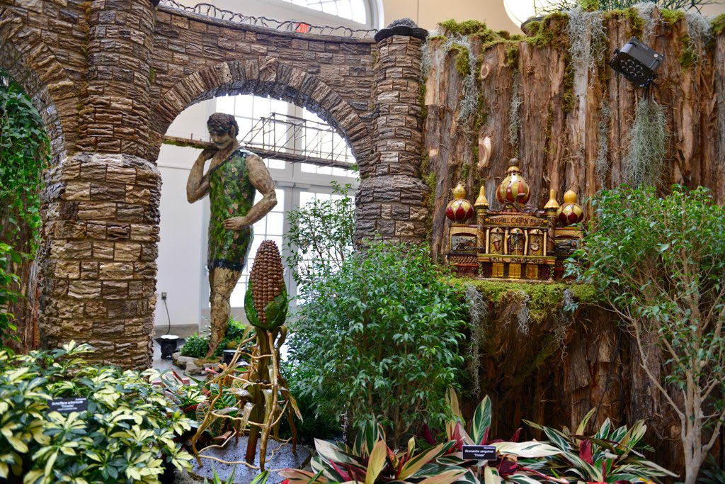 The most festive and fun things to do around dc this holiday season for Botanical gardens dc christmas