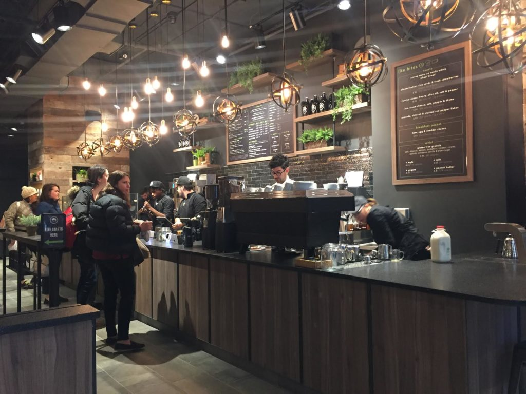 Nutrition-Conscious Gregorys Coffee Opens Near Dupont with Turmeric Lattes and Avocado Toast