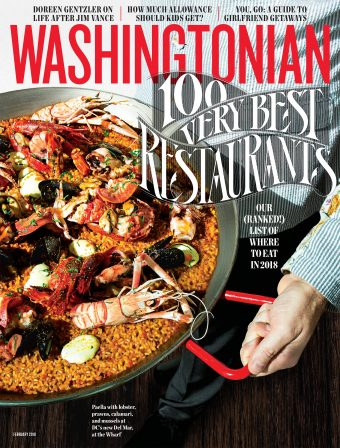 February 2018: 100 Very Best Restaurants