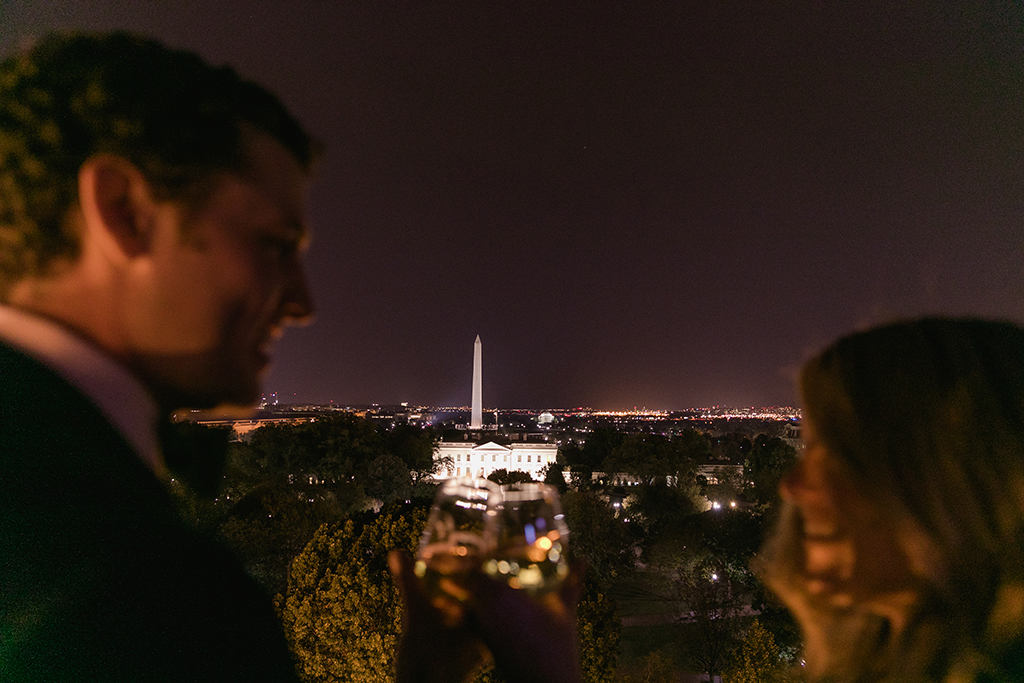 alexis polakoff william fedora classic dc wedding proposal at the reflecting pool on the national mall hay-adams wedding
