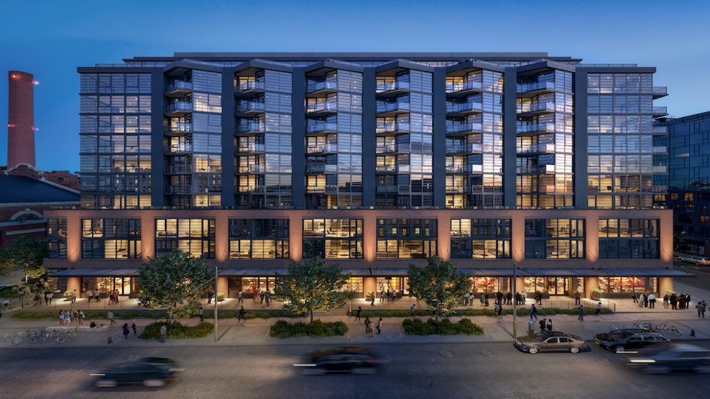 The Yards Gets its First Condo Building