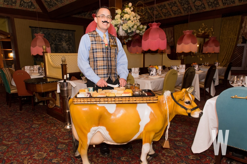 Image result for The Inn at Little Washington cheese cart